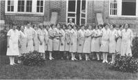 Waitresses at the Mountain Branch of National Home for Disabled Volunteer Soldiers