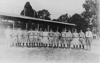 Baseball team at the Mountain Branch of the National Home for Disabled Volunteer Soldiers