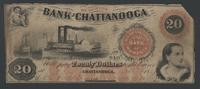 Twenty Dollar Bill, Bank of Chattanooga