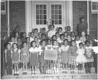 Students of Eastport Elementary School in Knoxville, Tennessee