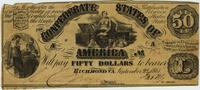 Confederate Fifty Dollar Bill