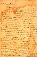 1817 Jan. 29, Highawassee Garrison [Tenn. to] Col[onel] Return J. Meigs, Cherokee Agency