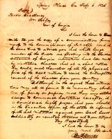 1836 Feb. 6, Spring Place, GA [to] W[illia]m Schley, Gov[ernor] of Georgia