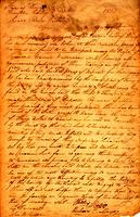 1814 May 7, Franklin County, Tennessee [to] Colo[nel] Return J Meiggs [i.e., Meigs]