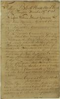 Proceedings with the Cherokees, Tellico Block House, December, 1794 [amp] January, 1795