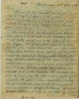 Copy of letter from Silas Dinsmoor in Hobukintoopa to Secretary of War Henry Dearborn