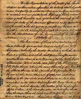 Constitution of the Cherokee Nation, 1827 Jul. 24, New Town Echota