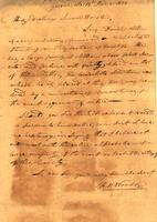 1828 Jun. 14 [to] Samuel Houston, Nashville, Ten [nessee]