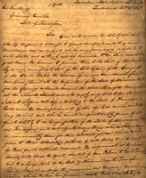 1828 Oct. 2, Tuskaloosa, Alabama [to] Governor [Sam] Houston, State of Tennessee