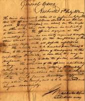 General Orders, 1812 Jul. 8, Nashville [to] Captain John Ballinger, New Orleans