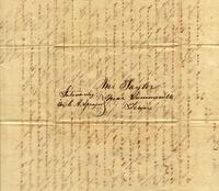 [Letter] 1846 Aug. 1, Salem, Miss[issippi] [to] Mr [Howell] Taylor, near Summerville, Tenn[essee]