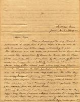 [Letter] 1844 Jun. 25, Jackson, Tenn[essee] [to] Col[onel] Robert J. Chester, Jonesboro, East Tennessee