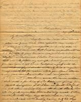 [Letter] 1843 Feb. 17, Columbia, Tenn[essee] [to] Miss Martha B. Chester, Jackson, Tenn[essee]