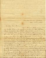 [Letter] 1841 May 15, Columbia, [Tennessee] [to] Elizabeth Chester, Jackson, Tennessee