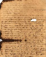 [Letter] [1841] Apr 23, Jackson, [to] Mary J[ane] Chester, Female Institute, Columbia