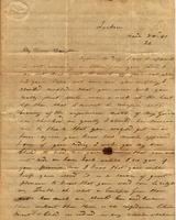 [Letter] 1841 Mar. 26, Jackson, [Tennessee] [to] Mary Jane Chester