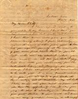 [Letter] 1841 Feb. 15, Jackson, Tenn[essee] [to] Mary Jane Chester, Female Institute, Columbus, Ten[nessee]