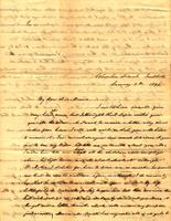 [Letter] 1841 Jan. 7, Columbia Female Institute, [Tennessee] [to] Elizabeth Chester