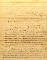 [Letter] 1840 Dec. 8, Columbia F[emale] Institute, [Tennessee] [to] Mrs. Rob[er]t J. Chester