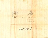 [Letter] 1840 Nov. 7 [to] Elizabeth Chester, Jackson Tennessee