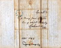[Letter] 1840 Nov. 2, Jackson, [Tennessee] [to] Mary Jane Chester, Columbia, Ten [nessee]