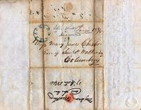 [Letter] 1840 Oct. 17, Jackson, Tennessee [to] Mary Jane Chester, Columbia, Ten[nessee]