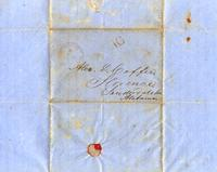 [Letter] 1849 Apr. 4 Washington, D.C., [to] Alex[ander] D. Coffee, Florence, Alabama