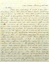 [Letter] 1848 Jan. 15 New Orleans, [to] Alex[ander D Coffee]