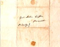 [Letter] 1819 Aug. 20 [to] Gen[era]l John Coffee