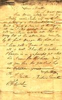 1835 May 5, Talladega [Alabama] [to] J. Grantham [amp] C[harles] F. Welcker