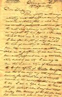 1832 Apr. 13, Harnageville, G[eorgi]a [to] Charles F Welcker, Kingston, Tennessee