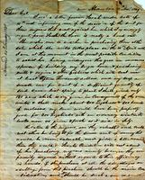 1849 Nov. 30, Alexandria, Louisiana [to] James King