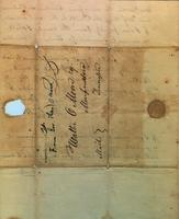 1830 Jul. 21, Alexandria Louisiana [to] Walter Moore, Murfreesboro, Tennessee