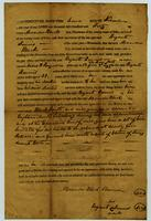 Apprentice Indenture of Moses H. Ferguson to Bryant Dennis