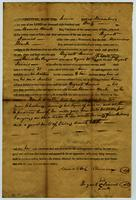 Apprentice Indenture of Daniel Lee Ferguson to Bryant Dennis