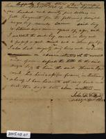 Slave bill of sale for Sam, purchased by Lipscomb