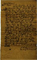 Estate papers regarding the sale of the slaves of John T. Weeks