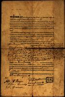 Deed of land ownership