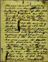 Slave Hire Document from Jefferson County, Tennessee