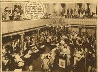 Women's Suffrage Ratification in the Tennessee Senate Chamber