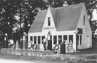 E. L. Morgan's First Gas Station