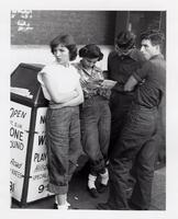 Disaffected youths, Fifth Avenue North, Nashville, TN, c. 1950s