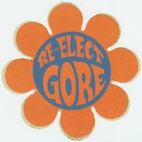Re-elect Gore Sticker