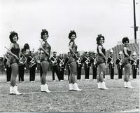 MT Marching Band and Majorettes