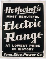 Hotpoint's Most Beautiful Electric Range
