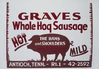 Graves Whole Hog Sausage