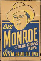 Bill Monroe and his Blue Grass Boys, Stars of the WSM Grand Ole Opry