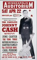 Fabulous Johnny Cash Show Poster