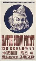 Hatch Show Print advertising poster