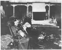 John Overton, Jr. and Harriet Overton at Travellers Rest, c. 1890